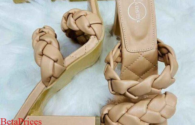 Quality braided heeled Shoes & Sandals