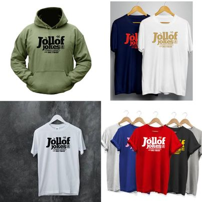 Jollof Jokes T-shirts for sale