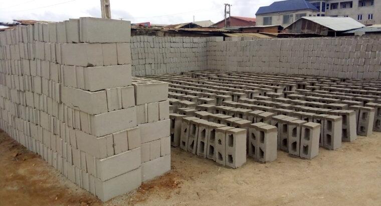 Cost of Sandcrete Blocks in Nigeria (2021)