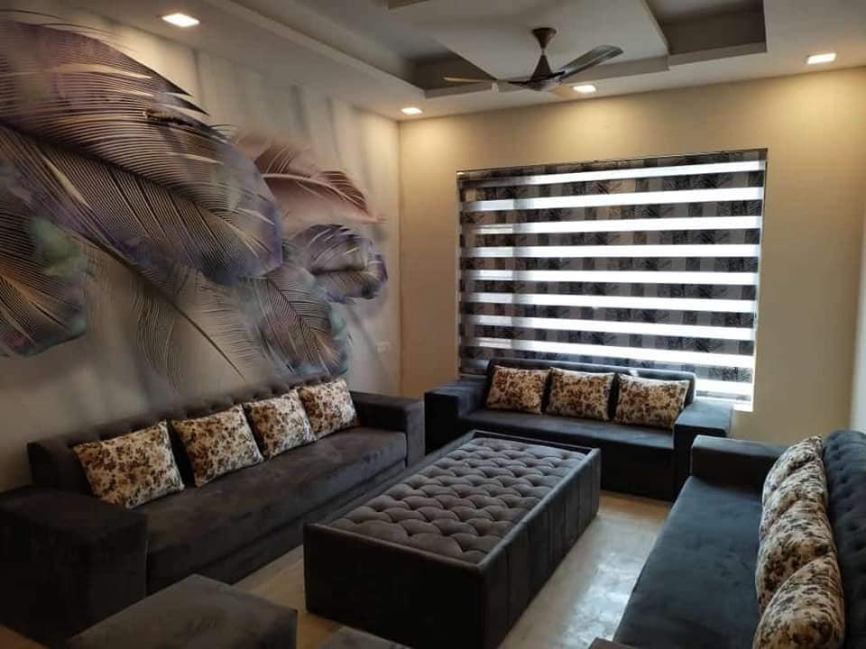 5D wallpaper design for Living room