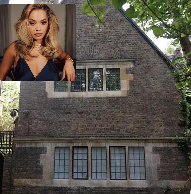 Haunted Victoria home where Rita Ora lives
