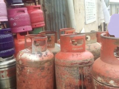 Price of 12.5kg gas Cylinder and Others in Nigeria (2021)